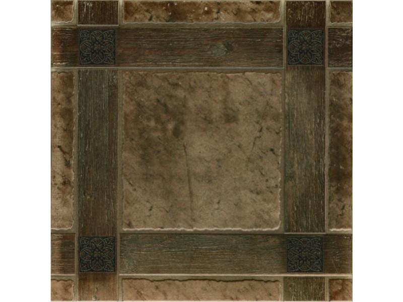 Грес рустик Керамин ШАТО 4 коричневый пол: фото - магазин Svit Keramiki