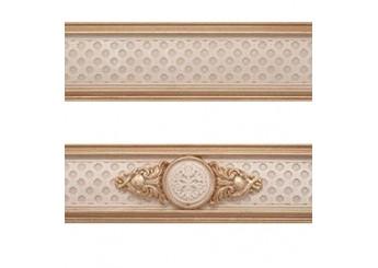 Плитка MAPISA LOUVRE CE MIX GOLD фриз2: фото - магазин Svit Keramiki