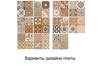 Плитка MONOPOLE CERAMICA ANTIQUE MARRON стена: фото - магазин Svit Keramiki