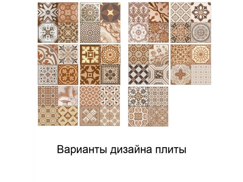 Плитка ANTIQUE MARRON пол: фото - магазин Svit Keramiki