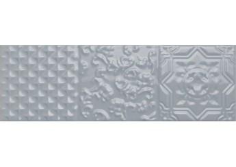 Плитка MONOPOLE CERAMICA ESENCIA BLUE BRILLO RELIEVE стена: фото - магазин Svit Keramiki