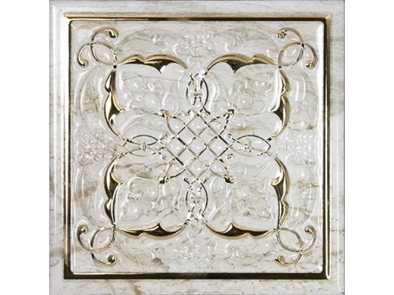 MONOPOLE CERAMICA PETRA ARMONIA GOLD B декор: фото - магазин Svit Keramiki