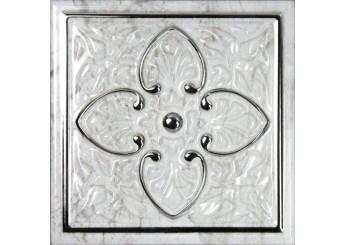 MONOPOLE CERAMICA PETRA ARMONIA SILVER A декор: фото - магазин Svit Keramiki