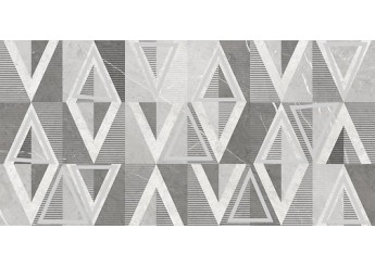 Плитка OPOCZNO BEATRIS INSERTO GEO декор: фото - магазин Svit Keramiki