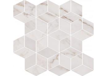 Плитка OPOCZNO CARRARA MOSAIC WHITE декор: фото - магазин Svit Keramiki