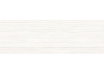 Плитка OPOCZNO STRIPES WHITE стена: фото - магазин Svit Keramiki