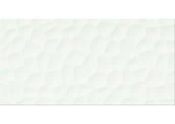 Плитка OPOCZNO FLAKE WHITE STRUCTURE стена: фото - магазин Svit Keramiki