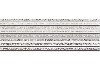 Плитка OPOCZNO MIRROR GREY INSERTO LINES декор: фото - магазин Svit Keramiki