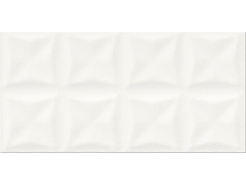 Плитка ORIGAMI WHITE GLOSSY STRUCTURE стена: фото - магазин Svit Keramiki