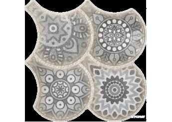 OSET GRANADA DECO GREY пол: фото - магазин Svit Keramiki