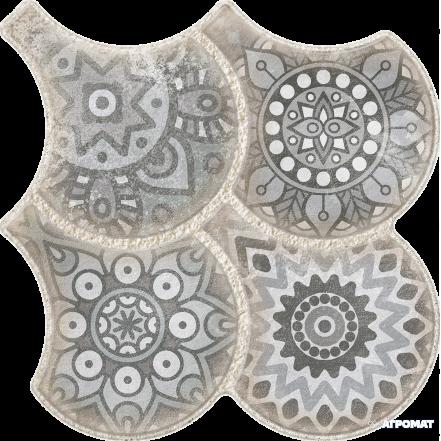 Плитка OSET GRANADA DECO GREY пол: фото - магазин Svit Keramiki