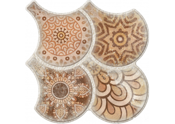 Плитка OSET GRANADA DECO NATURE пол: фото - магазин Svit Keramiki