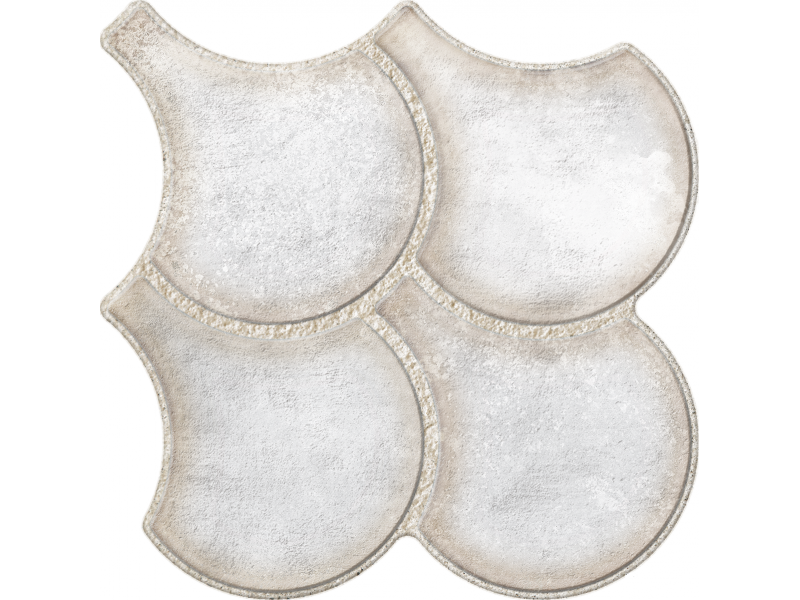 OSET GRANADA WHITE пол: фото - магазин Svit Keramiki