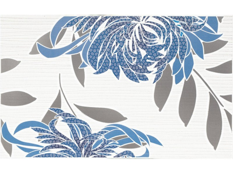 Плитка ACAPULCO BLUE INSERTO A декор: фото - магазин Svit Keramiki