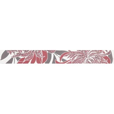 Плитка ACAPULCO ROSA LISTWA фриз: фото - магазин Svit Keramiki