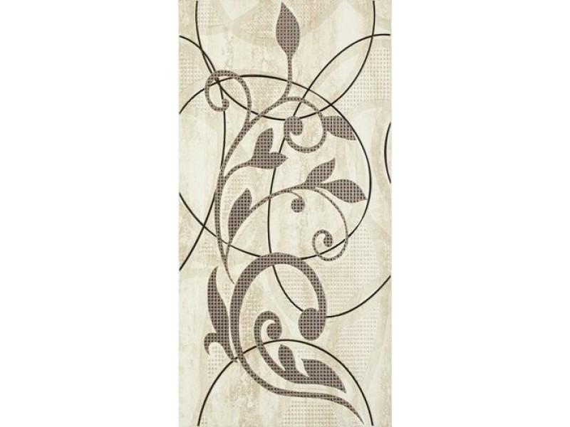 Плитка AMICHE BEIGE INSERTO A декор: фото - магазин Svit Keramiki