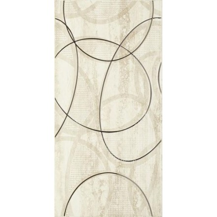 Плитка AMICHE BEIGE INSERTO C декор: фото - магазин Svit Keramiki