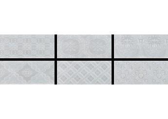 Плитка Roca MAJOLICA  TENDER GREY декор: фото - магазин Svit Keramiki