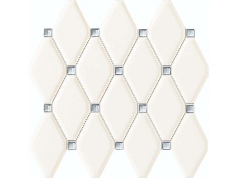 Плитка Tubadzin ABISSO WHITE MOZAIKA декор: фото - магазин Svit Keramiki