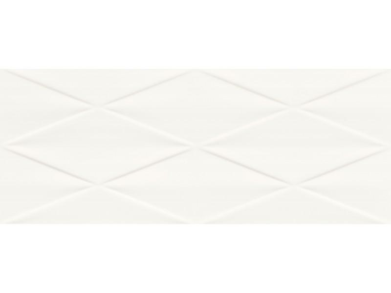 Плитка Tubadzin ABISSO WHITE STR стена: фото - магазин Svit Keramiki