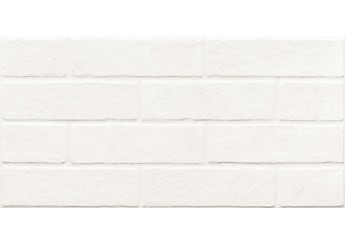 Плитка Зевс Керамика BRICKSTONE TOTAL WHITE ZNXBS0 стена: фото - магазин Svit Keramiki