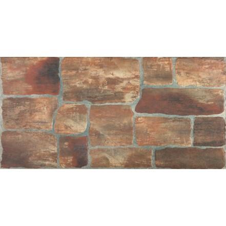 Плитка COTTAGE ZNXCT2 RED стена: фото - магазин Svit Keramiki