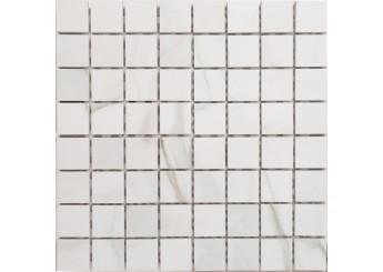 Плитка Зевс Керамика I CLASSICI WHITE MQCXMC1B мозайка: фото - магазин Svit Keramiki