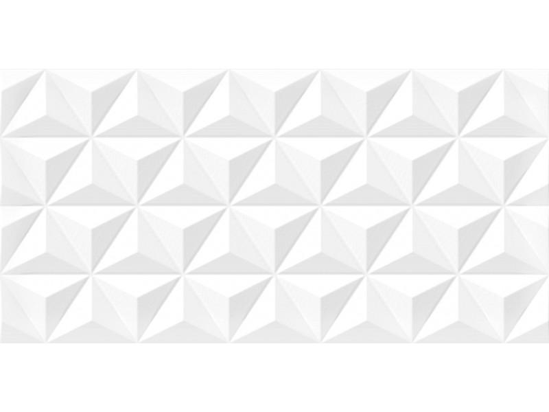 Плитка Cerama Market DIAMOND DIAMOND WHITE STAR DEKOR стена: фото - магазин Svit Keramiki