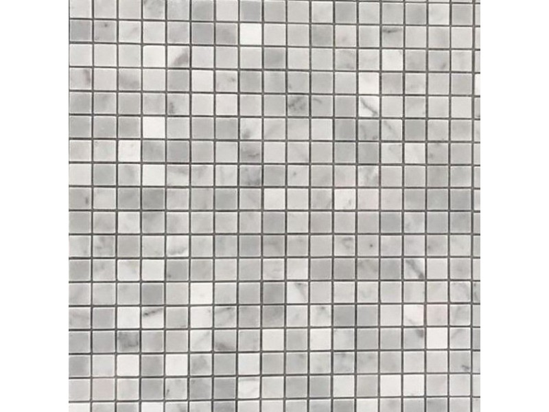 Мозайка MOZAICO DE LUX C-MOS BIANCO CARRARA POL: фото - магазин Svit Keramiki
