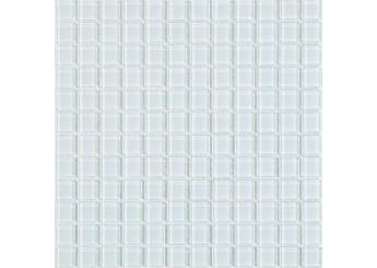 Мозайка MOZAICO DE LUX S-MOS A-10 CRYSTAL WHITE: фото - магазин Svit Keramiki