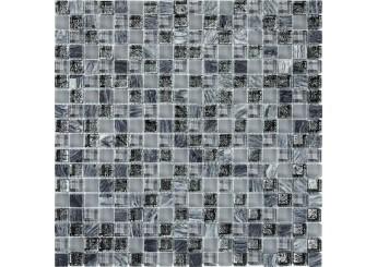 Мозайка MOZAICO DE LUX T-MOS DF02+G04+MARBLE (L): фото - магазин Svit Keramiki