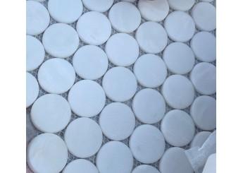 Мозайка MOZAICO DE LUX V-MOS TGS3506YX-BY WHITE: фото - магазин Svit Keramiki