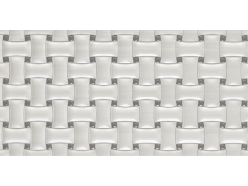Плитка ALAPLANA MELROSE BLANCO MOSAIC стена: фото - магазин Svit Keramiki