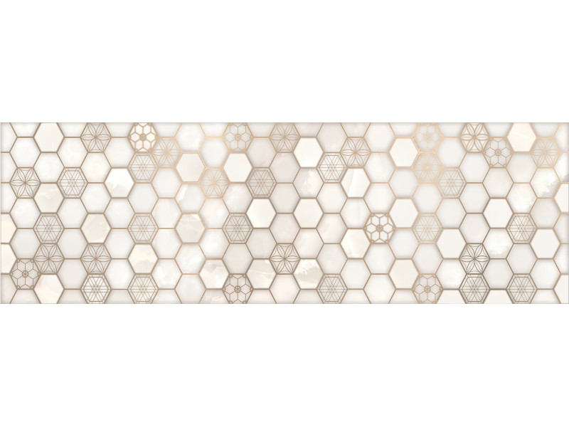 Интеркерама ONICE Серый 071 декор: фото - магазин Svit Keramiki