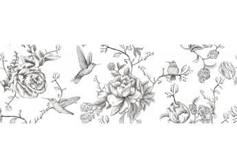 Интеркерама ORIS Белый 061 декор: фото - магазин Svit Keramiki