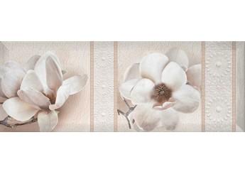 Плитка Интеркерама BINGO белый 061-2 декор: фото - магазин Svit Keramiki