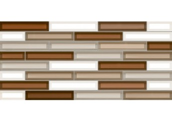 Интеркерама VITRO коричневая 032 стена: фото - магазин Svit Keramiki