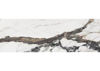 Плитка OPOCZNO CRYSTALLINE WHITE GLOSSY стена: фото - магазин Svit Keramiki