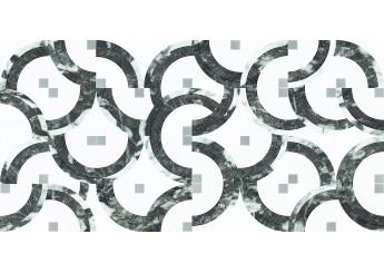 Плитка OPOCZNO ESME INSERTO GLOSSY декор: фото - магазин Svit Keramiki
