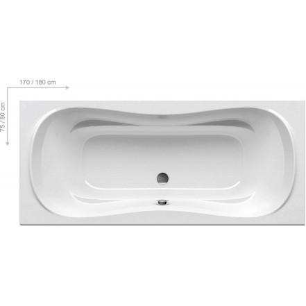 CAMPANULA ll Ванна 180x80: фото - магазин Svit Keramiki