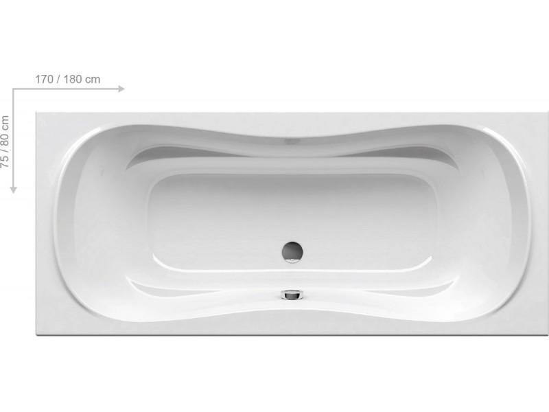 CAMPANULA ll Ванна 170x75: фото - магазин Svit Keramiki