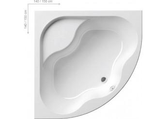 GENTIANA Ванна 140x140 : фото - магазин Svit Keramiki
