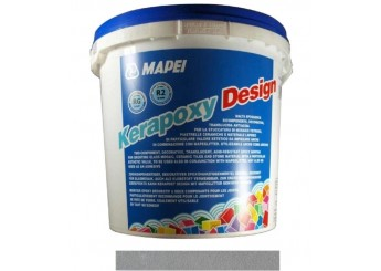 Клей-затирка KERAPOXY DESIGN 703/3кг серый: фото - магазин Svit Keramiki